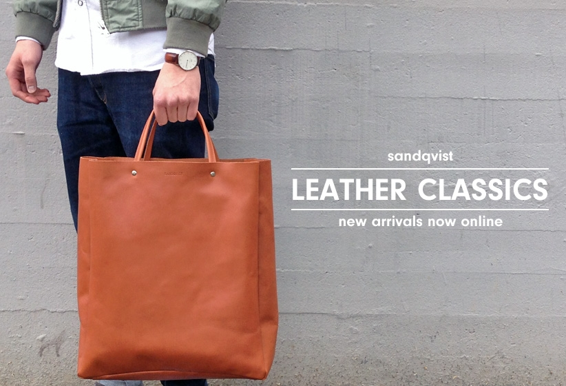 SANDQVIST LEATHER SERIES